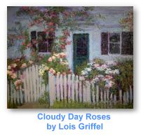 Cloudy Day Roses by Lois Griffel